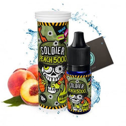 CHILL PILL - SOLDIER – PEACH 5000 - Boss Vape