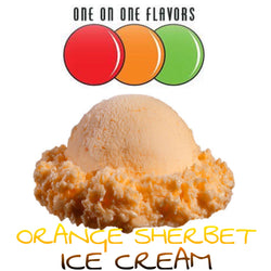 Orange Sherbet Ice Cream Flavor OOO