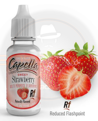 Sweet Strawberry Rf Flavor CAP - Boss Vape