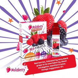 Molinberry Pack (M-Line) - Red Fruits 15ml