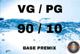 Premixed Base Liquid 90/10 - Boss Vape