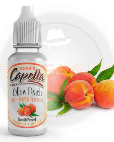 Yellow Peach Flavor CAP