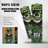 Battery Wrap - Vape Skin Range (18650)