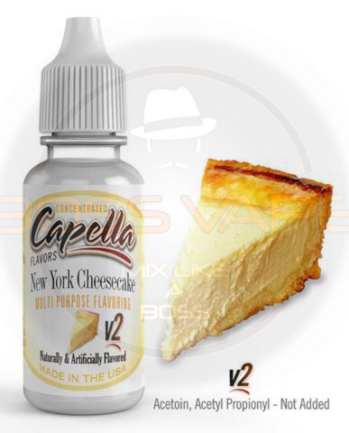New York Cheesecake v2 Flavor CAP - Boss Vape