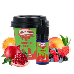 Jungle Red - Coffee Mill One Shot 10ml - Boss Vape