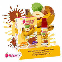 Molinberry Pack (M-Line) - Flavour Nut Banana 15ml
