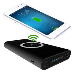 Boss Bank - 10000mAh Wireless Qi Fast Charge 2.1A Powerbank
