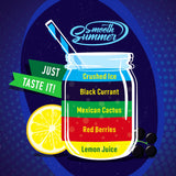 Smooth Summer One Shot - Lemon Juice | Red Berries | Mexican Cactus | Blackcurrant | Crushed Ice (LBMBC)- 10ml