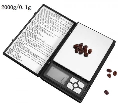 Digital Scale Book Type 0.1g - 2000g