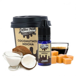 Coconut Milk Mocha - Coffee Mill One Shot 10ml - Boss Vape