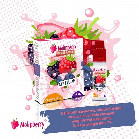 Molinberry Pack (M-Line) - Attitude 15ml