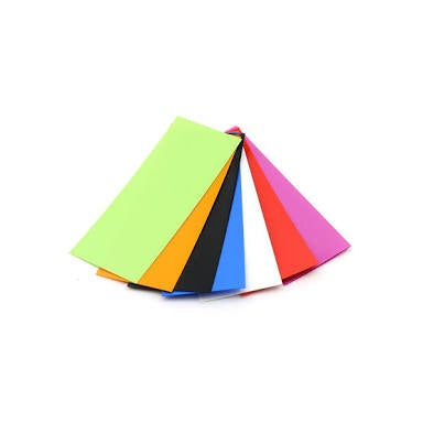 Battery Wrap Assorted Colours (18650)
