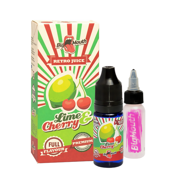 Retro Juice One Shot - Lime & Cherry - 10ml