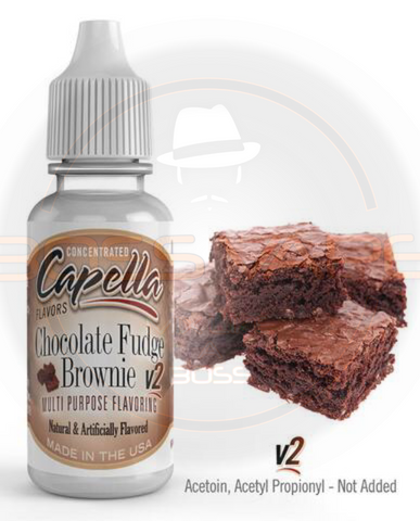 Chocolate Fudge Brownie v2 Flavor CAP - Boss Vape