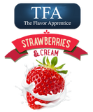 Strawberries and Cream Flavor TFA - Boss Vape