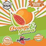 Retro Juice One Shot - Orange & Guava - 10ml