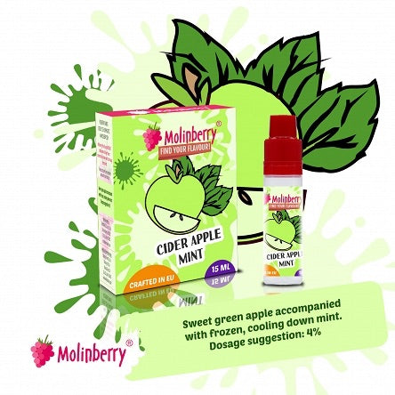 Molinberry Pack (M-Line) - Cider Apple Mint 15ml Write Review