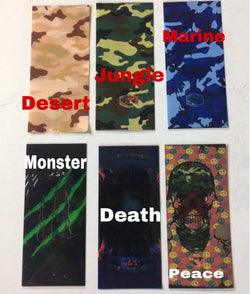 Battery Wrap Camo Colours (20700/21700) - Boss Vape