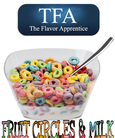 Fruit Circles With Milk Flavor TFA - Boss Vape