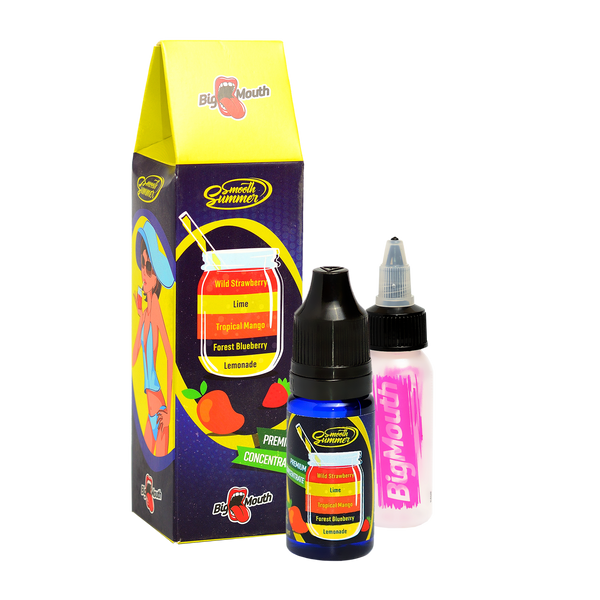 Smooth Summer One Shot - Lemonade | Forest Blueberry | Tropical Mango | Lime | Wild Strawberry (LFTLW)- 10ml