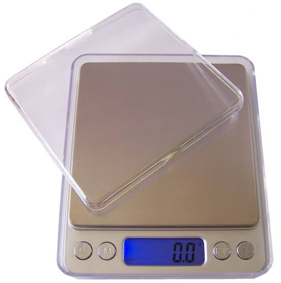 Digital Scale Square Type 0.01g - 500g