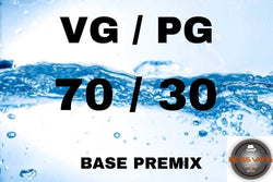 Premixed Base Liquid 70/30 - Boss Vape