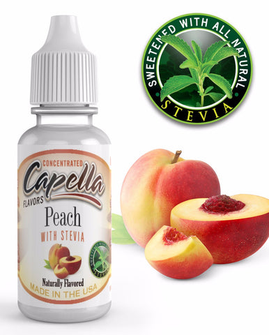Peach With Stevia CAP - Boss Vape