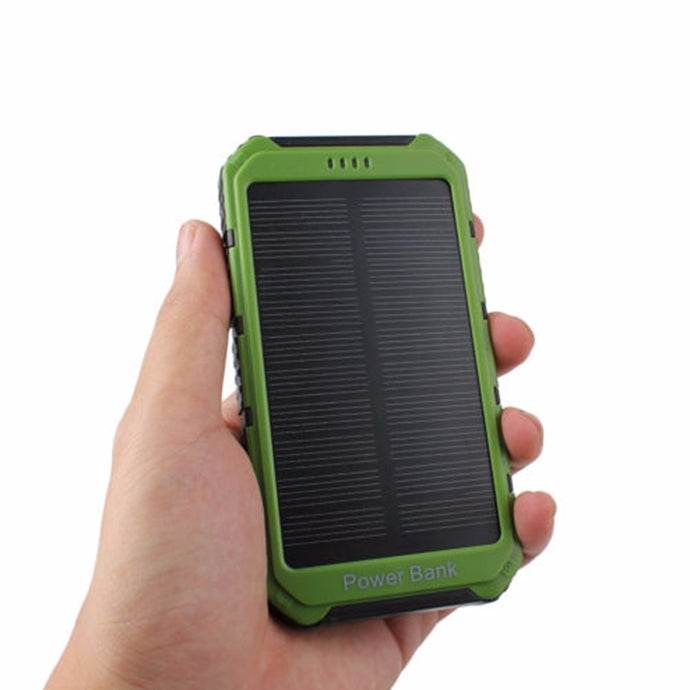 4000mAh Solar Panel Power Bank Quality Tested and Reliable