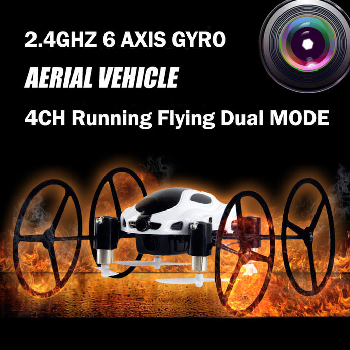 RC Car Drone Quadcopter 4CH 2.4G 6 AXIS HD Camera