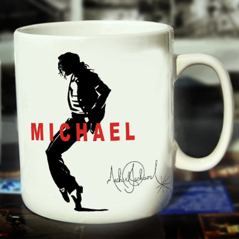 Michael Jackson Ceramic Coffee Mug