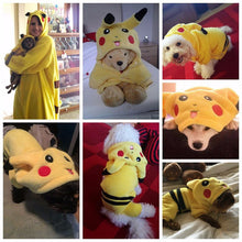 Adorable Cute Pikachu Cosplay Pet Costume