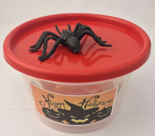 Halloween mini party bucket