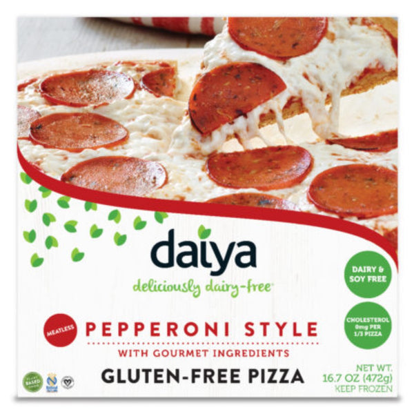 Daiya Pizza -Meatless Pepperoni