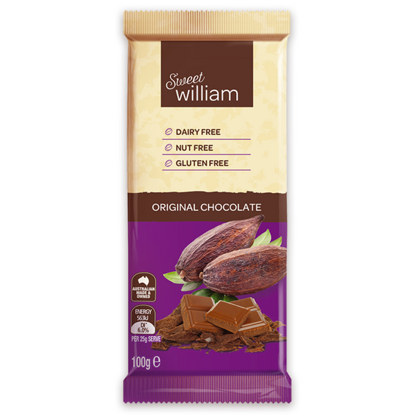 Sweet William Dairy Free Original -100g