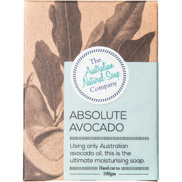 The Australian Natural Soap Company Absolute Avocado Soap