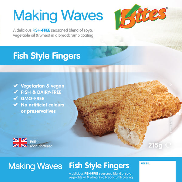 VBites Fishless Fish Fingers- Use By 21st November 2018