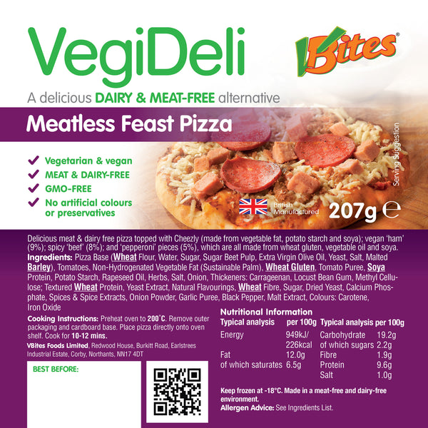 VBites Pizza -Meatless Feast