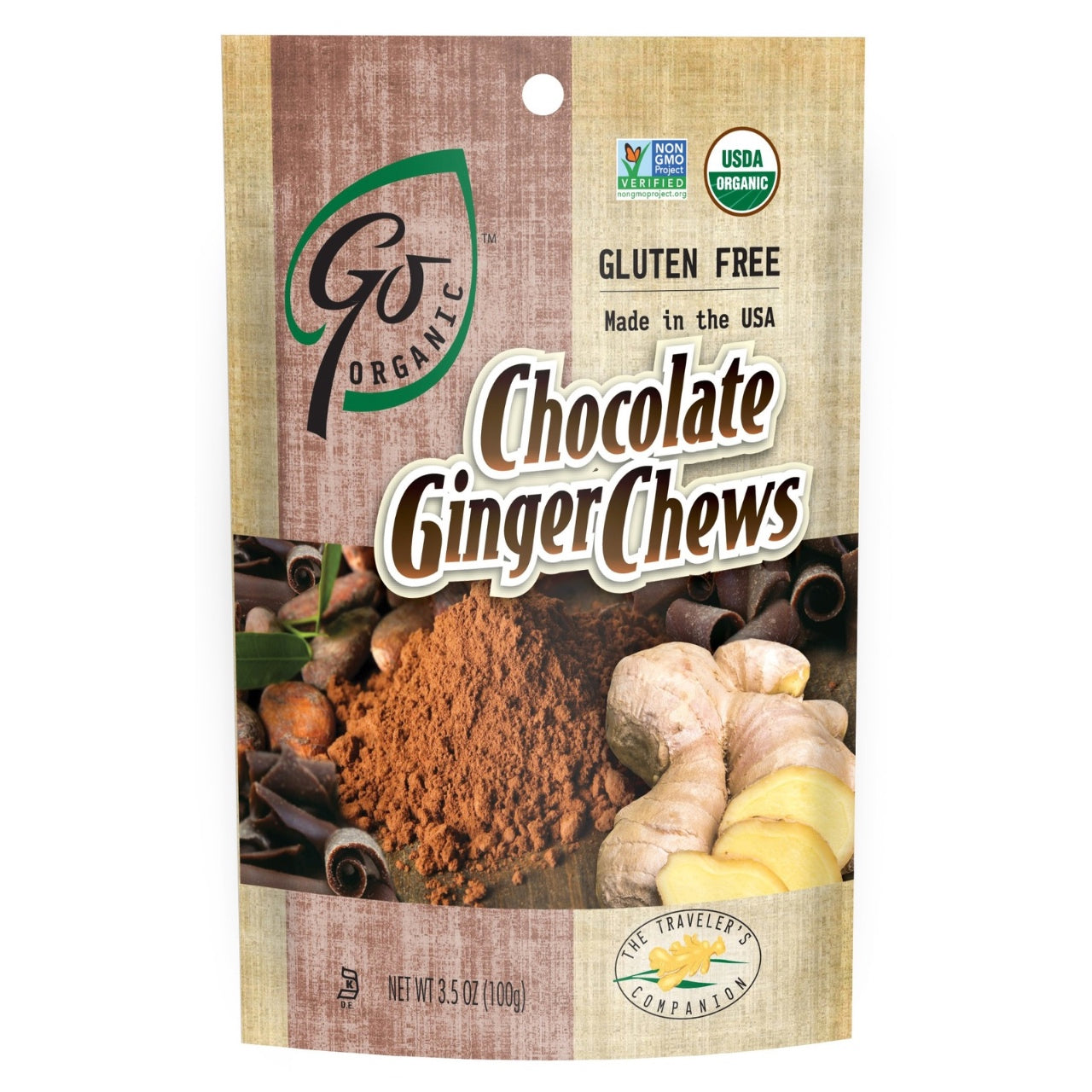 Go Organic Chocolate Ginger Chews