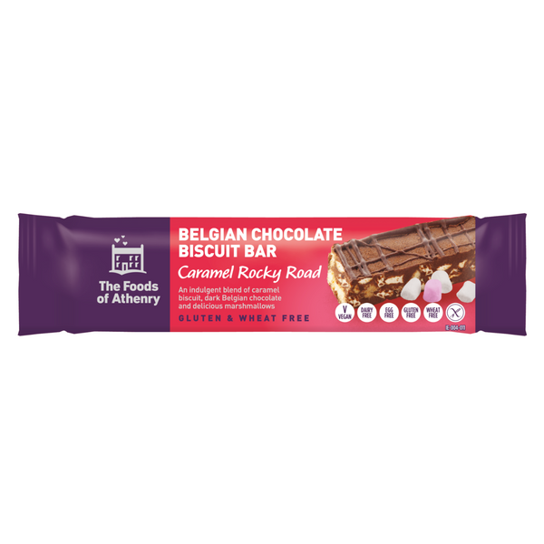 Athenry Caramel Rocky Road Bar