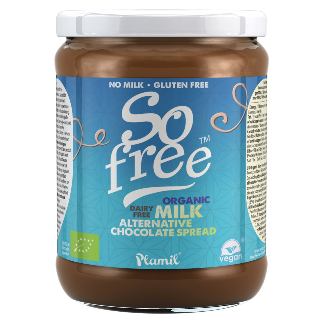 So Free Organic Milk Style Chocolate Spread