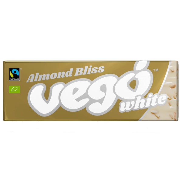 Vego Almond Bliss White Choc Bar