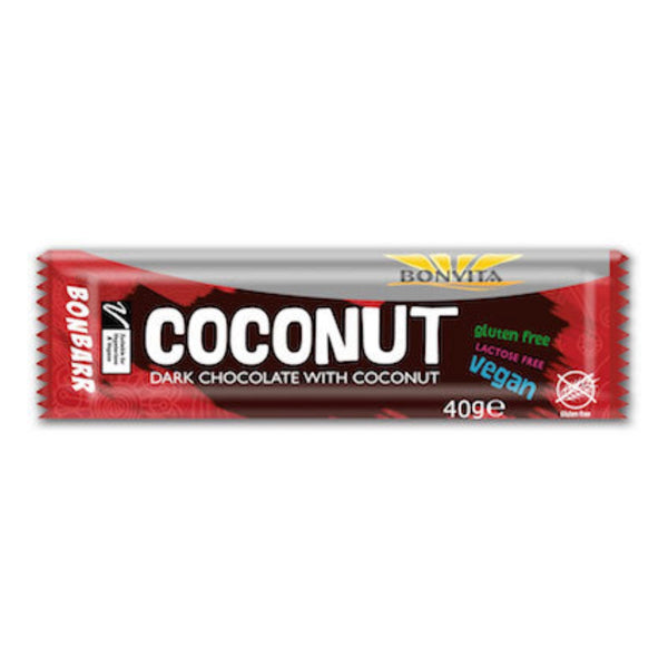 Bonvita Bonbarr Dark Chocolate and Coconut Bar