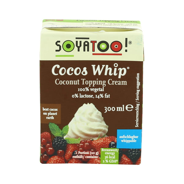 Soyatoo Coconut Topping Cream