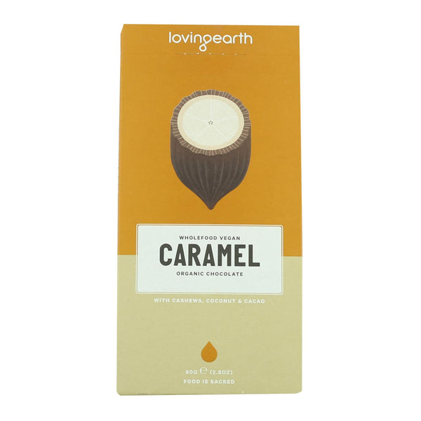 Loving Earth Caramel Chocolate
