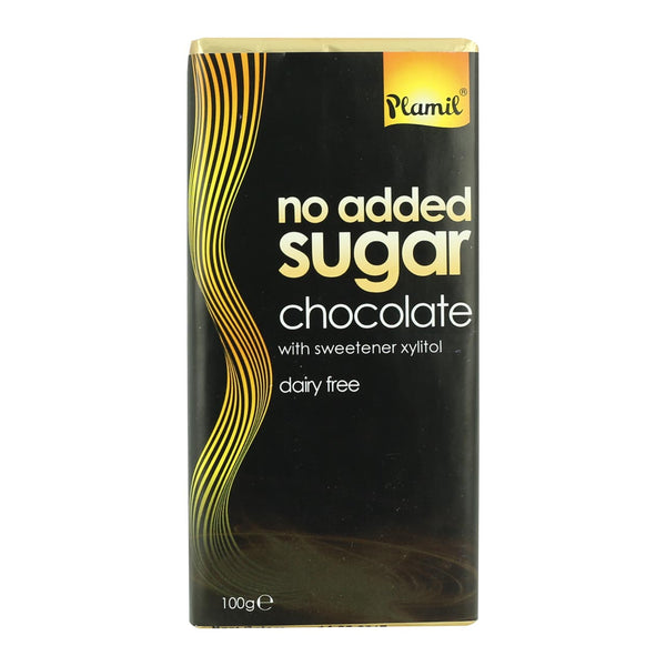Plamil No Added Sugar Dark Chocolate