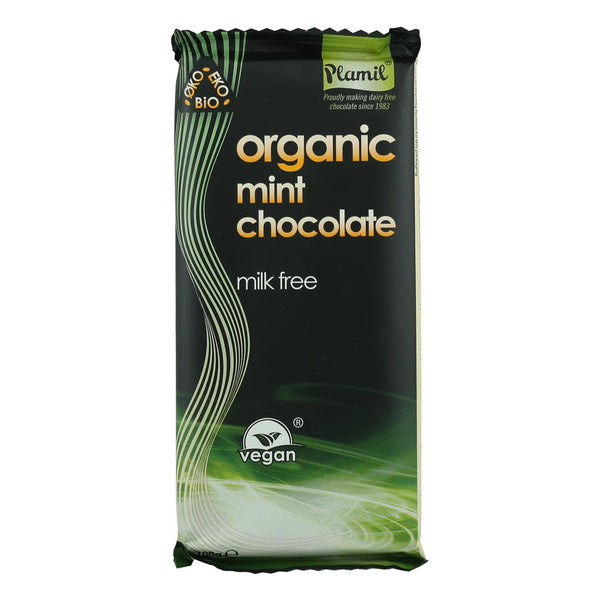Plamil Organic Mint Chocolate - 100g