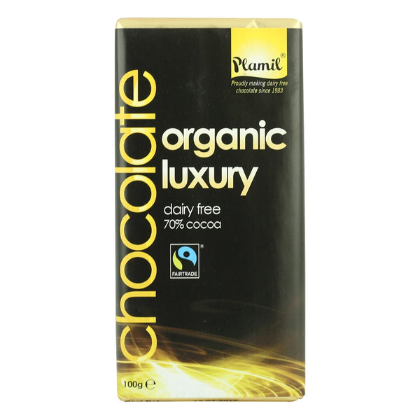 Plamil Organic Luxury Chocolate - 100g