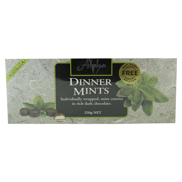 Alpha Dinner Mints Gift Box