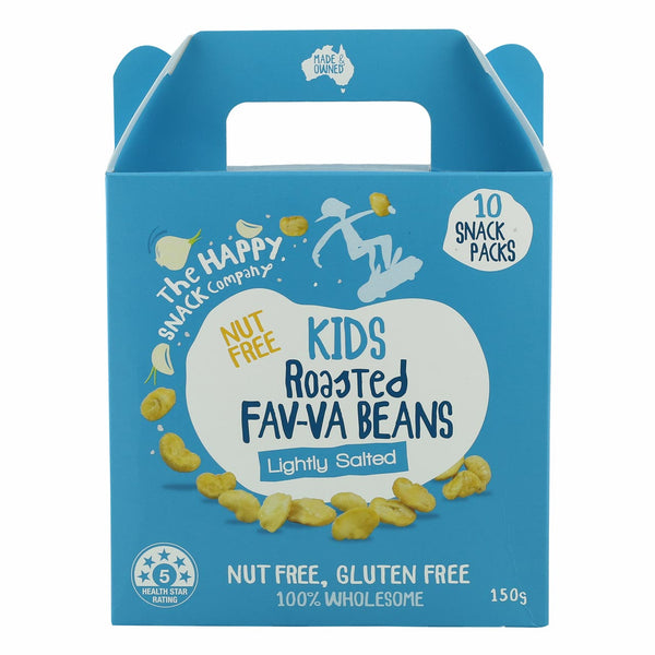 The Happy Snack Company Fav-Va Nuts Roasted Broadbeans- Lightly Salted
