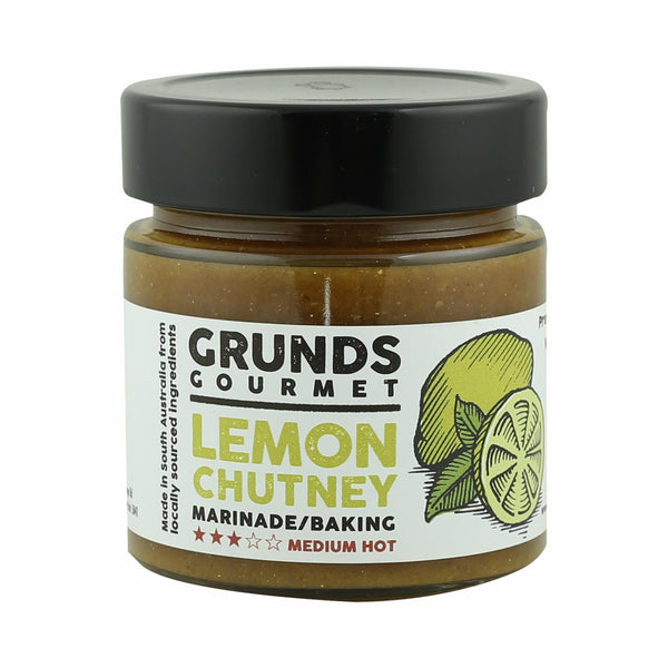 Grunds Gourmet Lemon Chutney